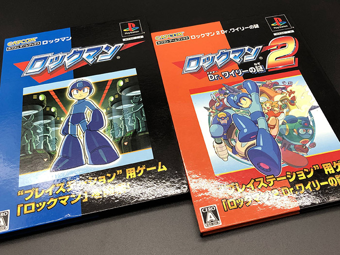 CAPCOM BOOKS洛克人1&2