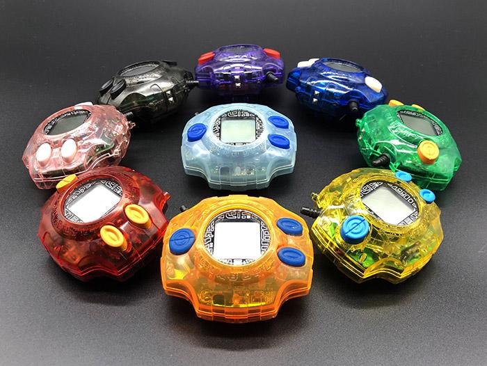 电波暴龙机八位孩子全员配色定制项目